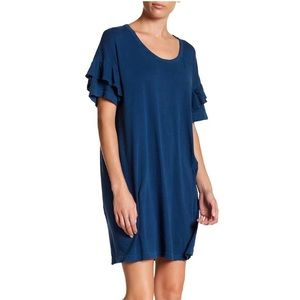 The ruffle roadie dress by Current/Elliott